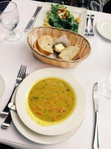 Malligatawny & Caesar Salad